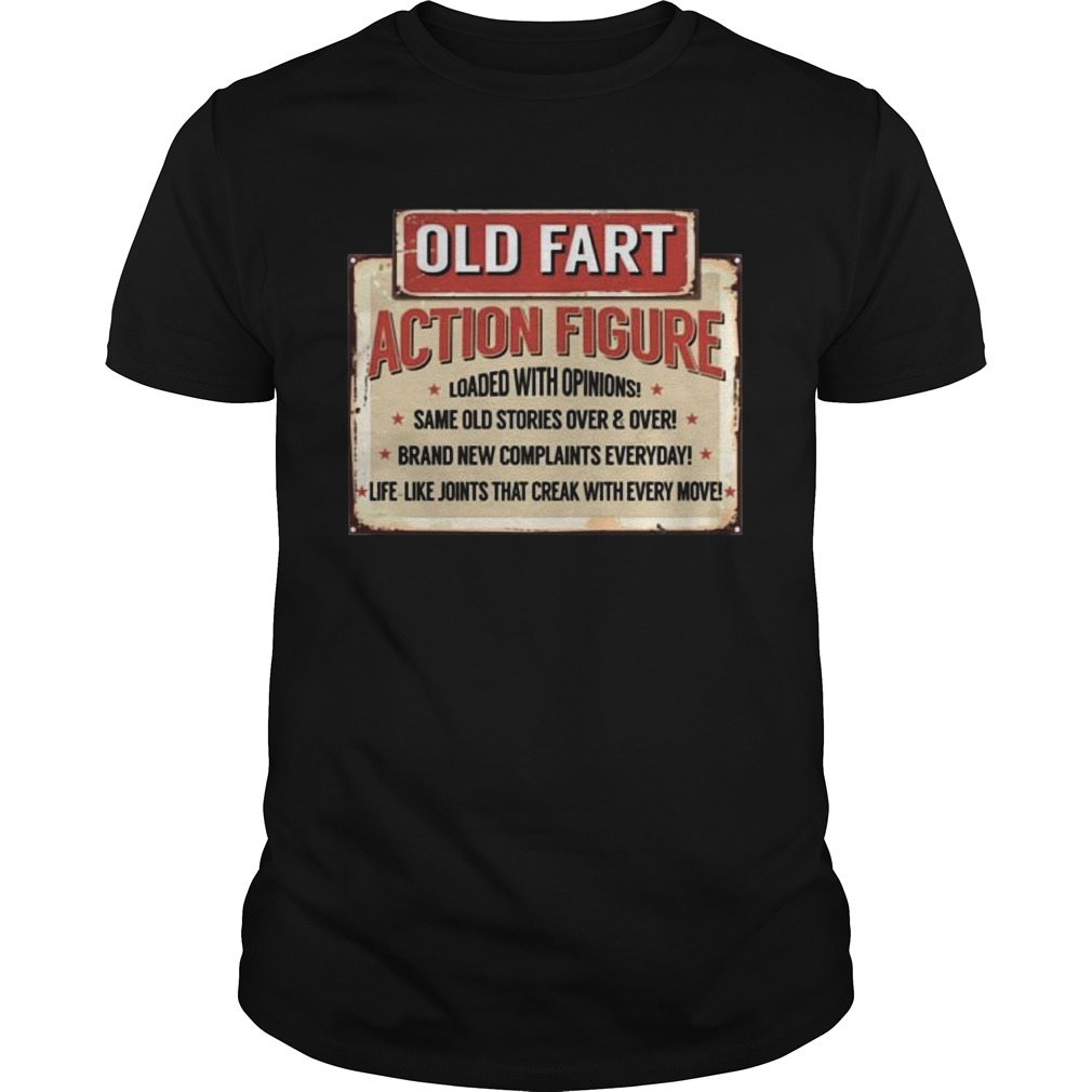 Old Fart Action Figure For Old Man Club Unisex