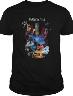 Porcupine Tree Signatures shirt