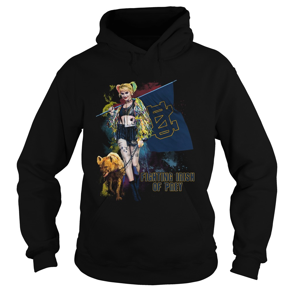 Quinn Fighting Irish Of Prey Hoodie