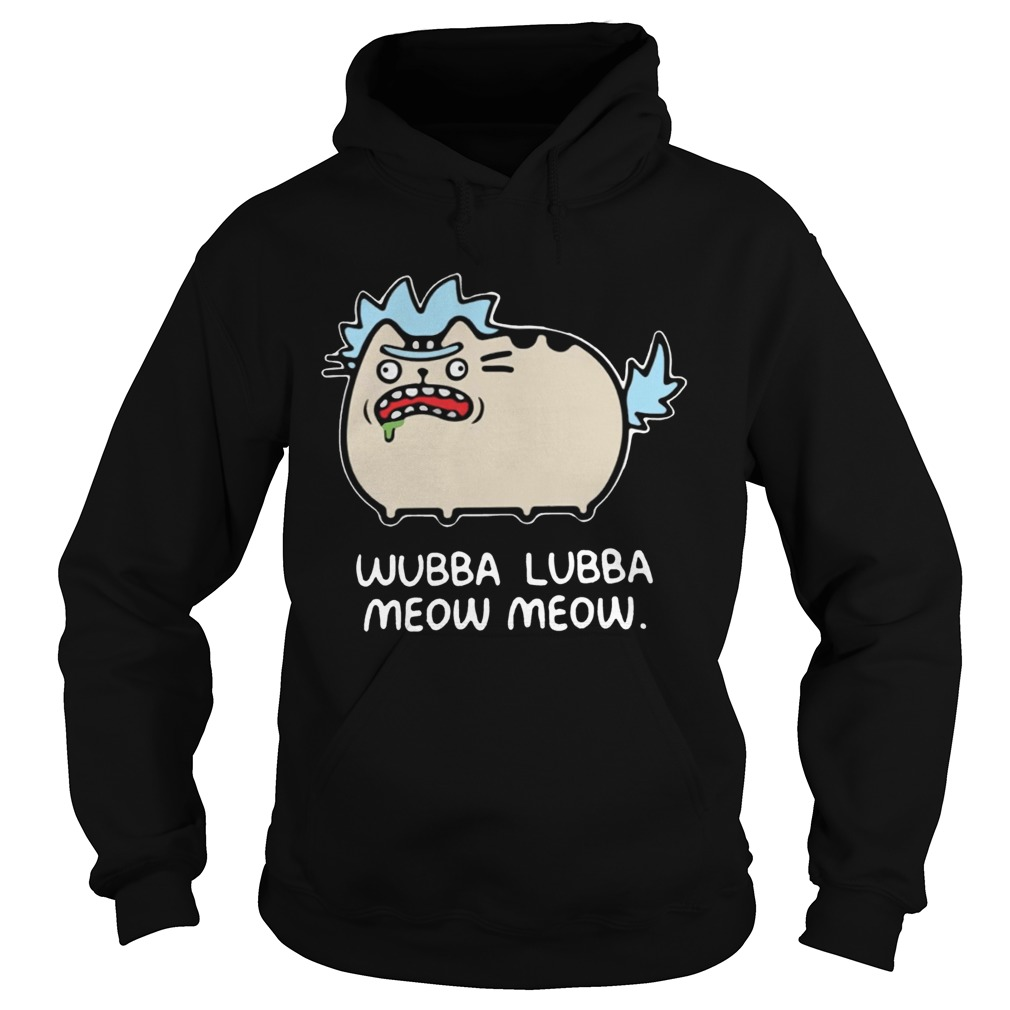 Rick and Morty Pusheen Hoodie