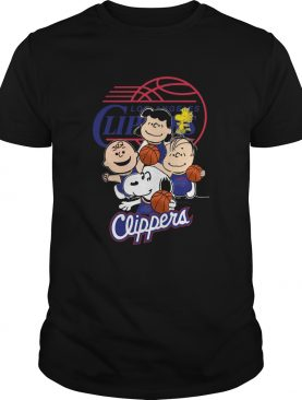 The Peanut Los Angeles Clippers shirt