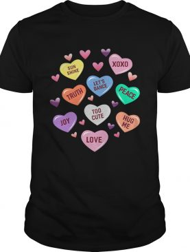 Valentines Day Heart Candy shirt