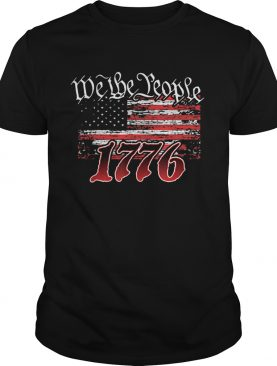 We The People 1776 American Flag shirt