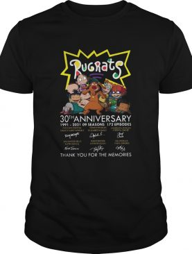 30th Anniversary 1991 2021 Thank You For The Memories Rugrats shirt