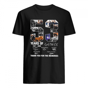53 Years Of 1967 2020 Genesis Thank You For The Memories  Classic Men's T-shirt