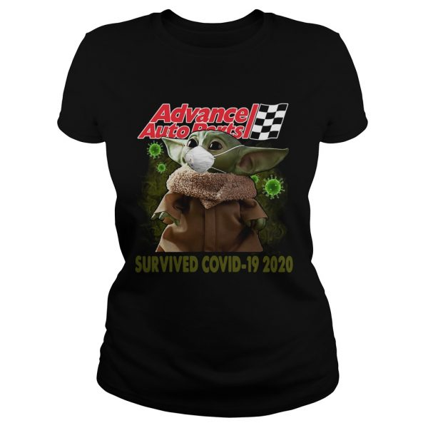 Baby Yoda Advance Auto Parts Survived Covid 19 2020  Classic Ladies