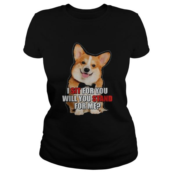 Corgi I sit for you will you stand for me  Classic Ladies