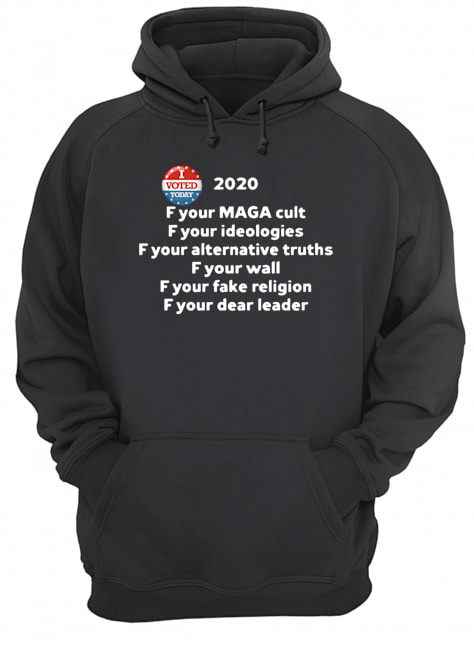F Your Maga Cult F Your Ideologies  Unisex Hoodie