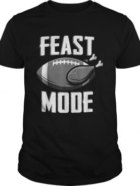 Feast Mode Football Turkey Thanksgiving Soccer Ball shirt