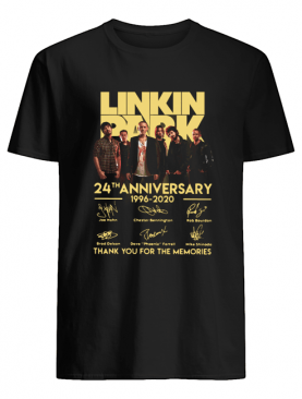 Linkin Park 24th Anniversary 1962 2020 Thank You For The Memories shirt