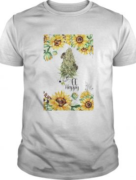 Sunflower Bee Happy shirt
