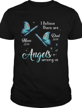 Angels Among Us Butterfly Memorial Personalized shirt