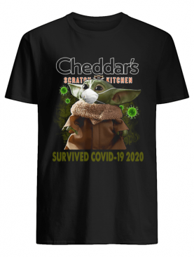 Baby Yoda Cheddar's Scratch Kitchen Survived Covid 19 2020 shirt