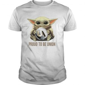 Baby Yoda hug UA proud to be Union  Unisex