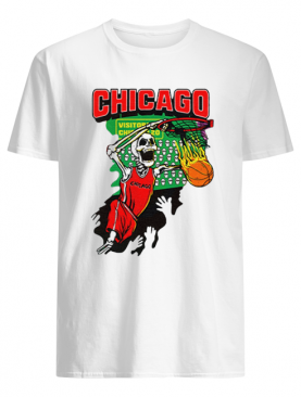 Chicago Tie-Dye Basketball For shirt