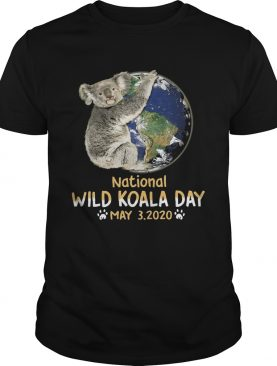 Earth national wild koala day may 3 2020 shirt