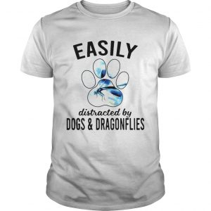 Easily Distracted By Dogs And Dragonflies  Unisex