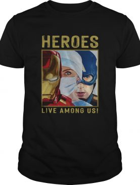 Firefighter Heroes Live among US shirt