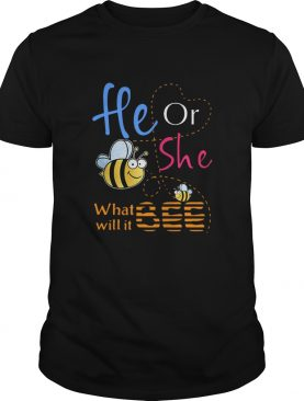 He Or She What Will It Bee shirt
