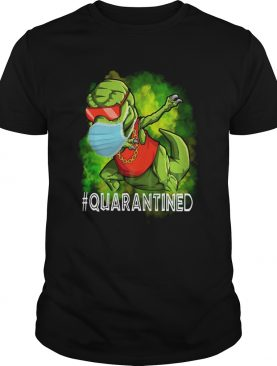 Quarantined Dinosaur mask shirt