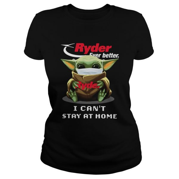 Ryder Ever Better Baby Yoda I Cant Stay Home  Classic Ladies