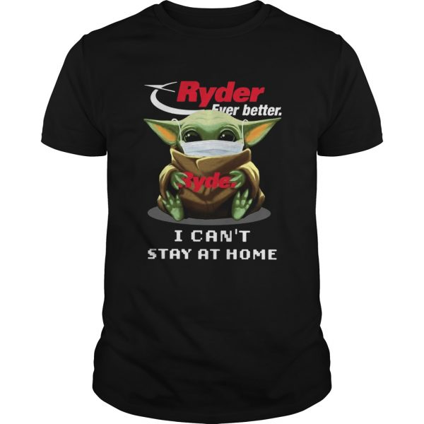 Ryder Ever Better Baby Yoda I Cant Stay Home  Unisex