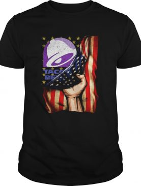 Taco Bell And America Flag shirt