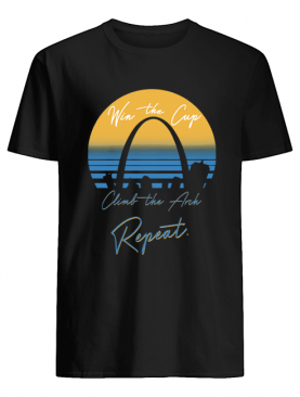 Win The Cup Climb The Arch Repeat shirt
