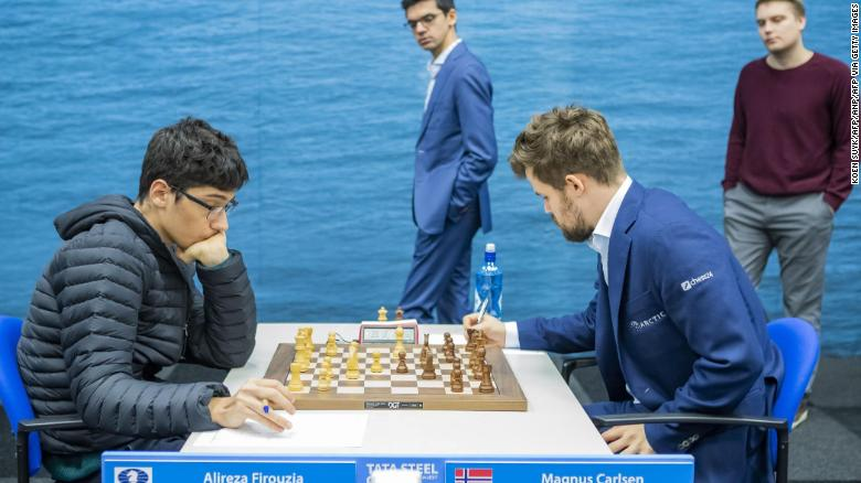 Magnus Carlsen: 'My emotions are usually outside my body and that's not what you usually connect to a chess player.'