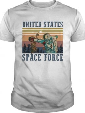 Alien united states space force vintage shirt