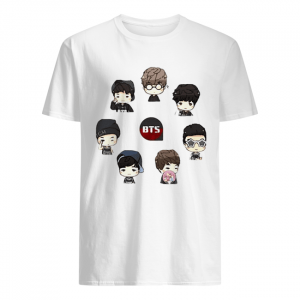 Bts bangtan boy same cartoon chibi  Classic Men's T-shirt