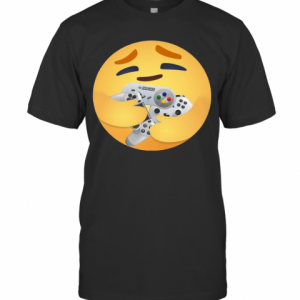 Facebook Care Emoji Hugging Gamer Gifts Love T-Shirt Classic Men's T-shirt