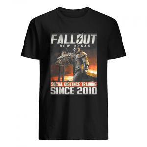 Fallout New Vegas Social Distance Training Since 2010  Classic Men's T-shirt