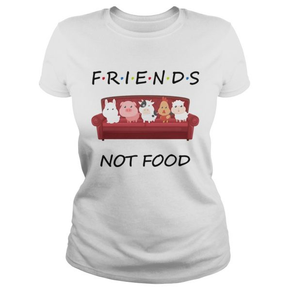 Friends not food on the sofa animal  Classic Ladies