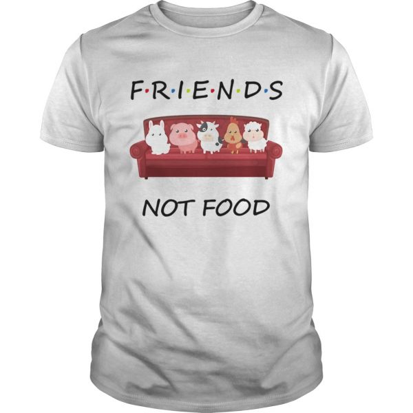 Friends not food on the sofa animal  Unisex