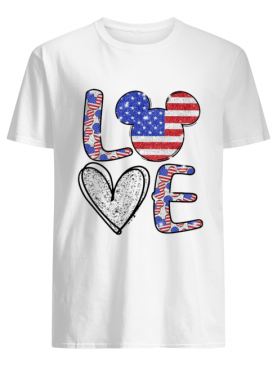 Love Mickey Mouse Independence shirt