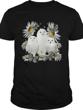 Owls And Flower shirt