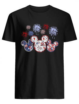 Patriotic Mouses Happy Independence shirt