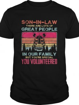 Rhino soninlaw there are lots of great people in our family but youre special you volunteered vi