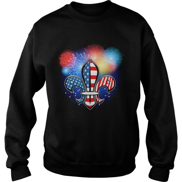 Scout Independence Day Firework  Sweatshirt