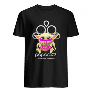Star wars baby yoda hug paparazzi independent consultant mask covid-19  Classic Men's T-shirt