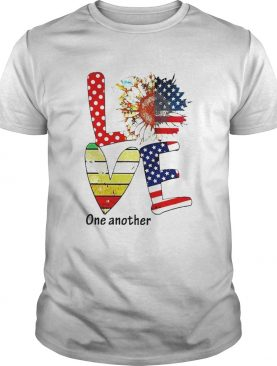 Sunflower American Love One Another Vintage shirt