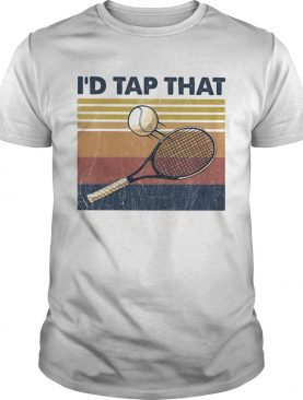 Tennis Id tap that vintage shirt
