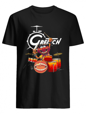 The Muppet Show Animal Playing Gretsch Drums shirt