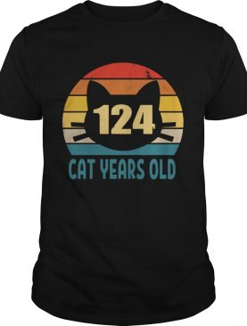 124 Cat Years Old Vintage shirt