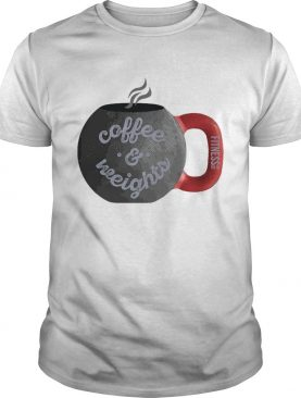 Coffee And Weights Fitness Tee Co shirt