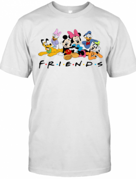 Disney Character Mickey Mouse And Friends T-Shirt