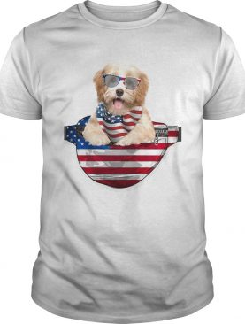 Havanese waist pack american flag independence day shirt