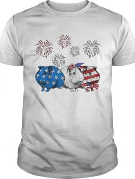 Independence Day Mouses Wear Bow Tie Firework shirt