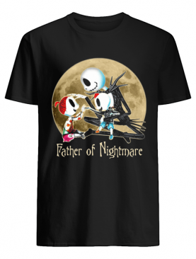 Jack skellington father of nightmare happy father's day shirt